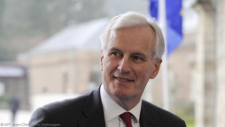 Entretien avec Michel Barnier Commissaire européen au marché intérieur