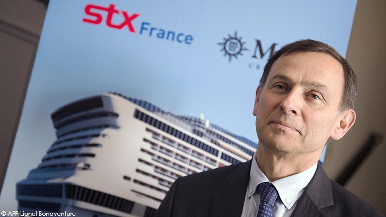 Entretien avec Laurent Castaing, Directeur général, STXFrance