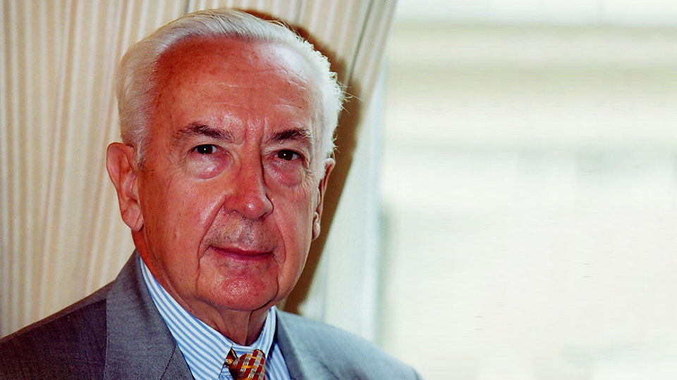 Entretien avec Jacques de Larosière, Ancien directeur général du FMI, ancien gouverneur de la Banque de France.